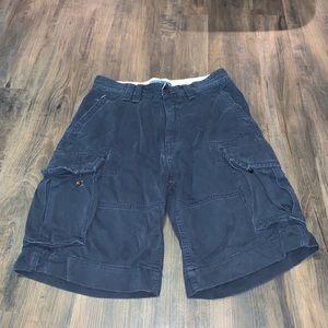 Polo Ralph Lauren Men's Navy Blue Cargo Shorts 30